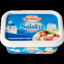 Свежие сыры  Салакис (Фета) President