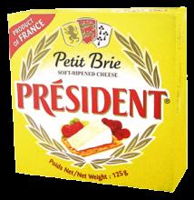 Мягкий сыр Бри President