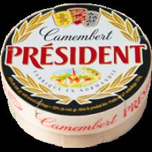 Мягкий сыр Камамбер President