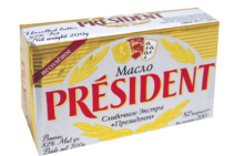Масло President кислосливочное