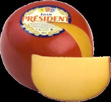 Твердый сыр Эдам President