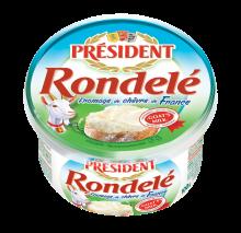 Козий сыр Ронделе  President